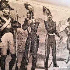 Libros antiguos: ANTIGUO LIBRO SIGLO XIX,HISTORIA DE ITALIA,AÑO 1844,LAMINAS DE UNIFORMES MILITARES,CIVILES,VATICANO. Lote 163961466