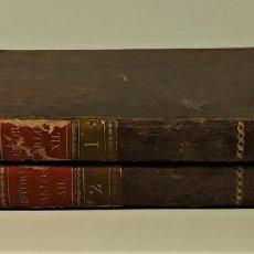 Libros antiguos: HISTORIA DE CARLOS XII, REY DE SUECIA. TOMOS I Y II. IMP. AZNAR. MADRID. 1794.. Lote 164707106