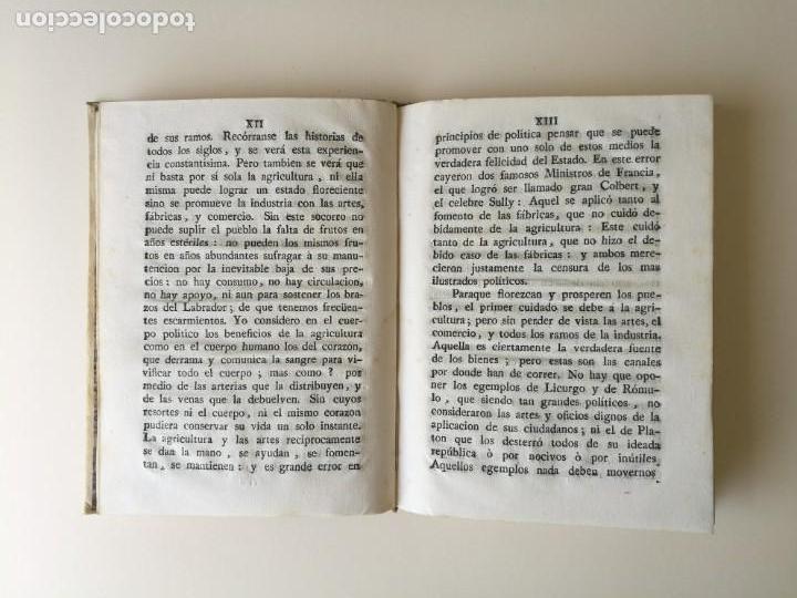 Libros antiguos: Libro 2 partes discurso Francisco Armaña y estatutos sociedad economica de Tarragona 1787 - Foto 3 - 164916734