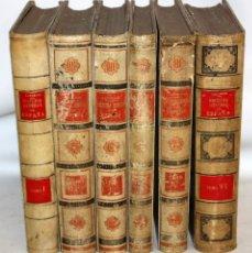 Libros antiguos: HISTORIA GENERAL DE ESPAÑA-MODESTO LAFUENTE-6 TOMOS-MONTANER Y SIMON.. Lote 165044562