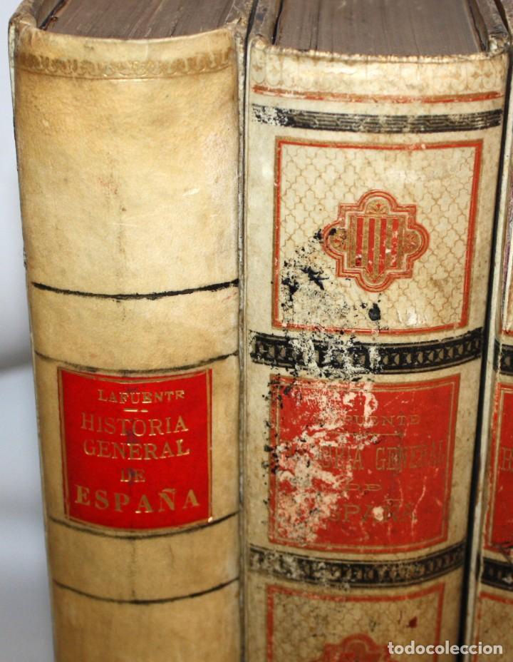 Libros antiguos: HISTORIA GENERAL DE ESPAÑA-MODESTO LAFUENTE-6 TOMOS-MONTANER Y SIMON. - Foto 2 - 165044562