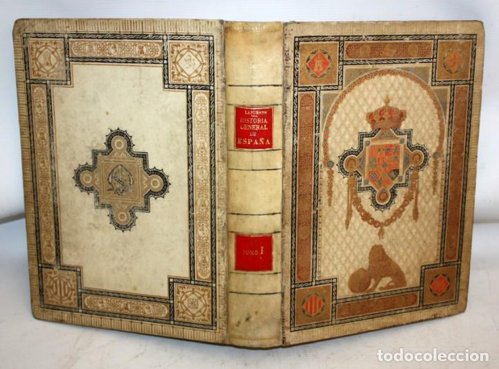 Libros antiguos: HISTORIA GENERAL DE ESPAÑA-MODESTO LAFUENTE-6 TOMOS-MONTANER Y SIMON. - Foto 4 - 165044562