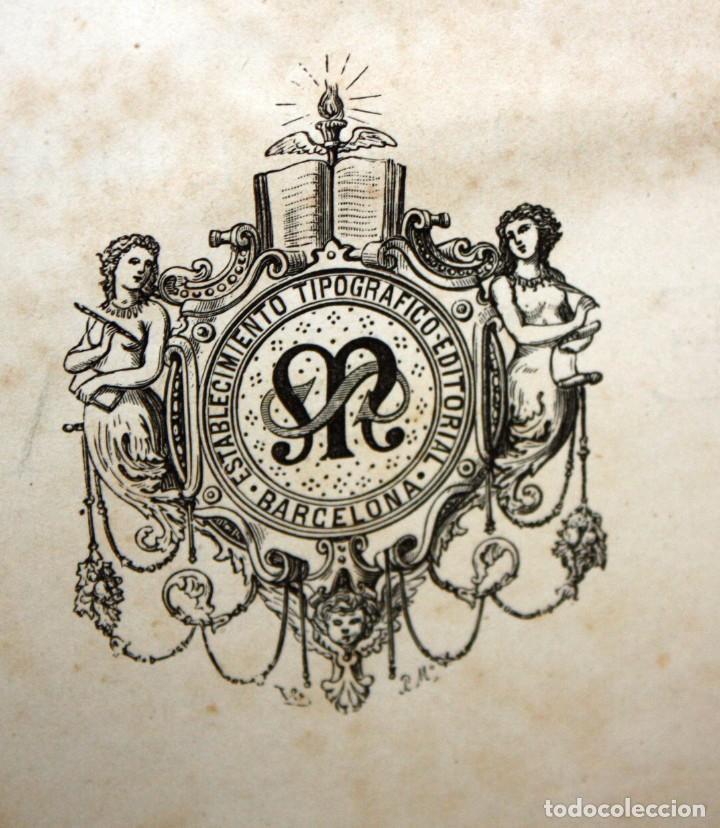 Libros antiguos: HISTORIA GENERAL DE ESPAÑA-MODESTO LAFUENTE-6 TOMOS-MONTANER Y SIMON. - Foto 7 - 165044562