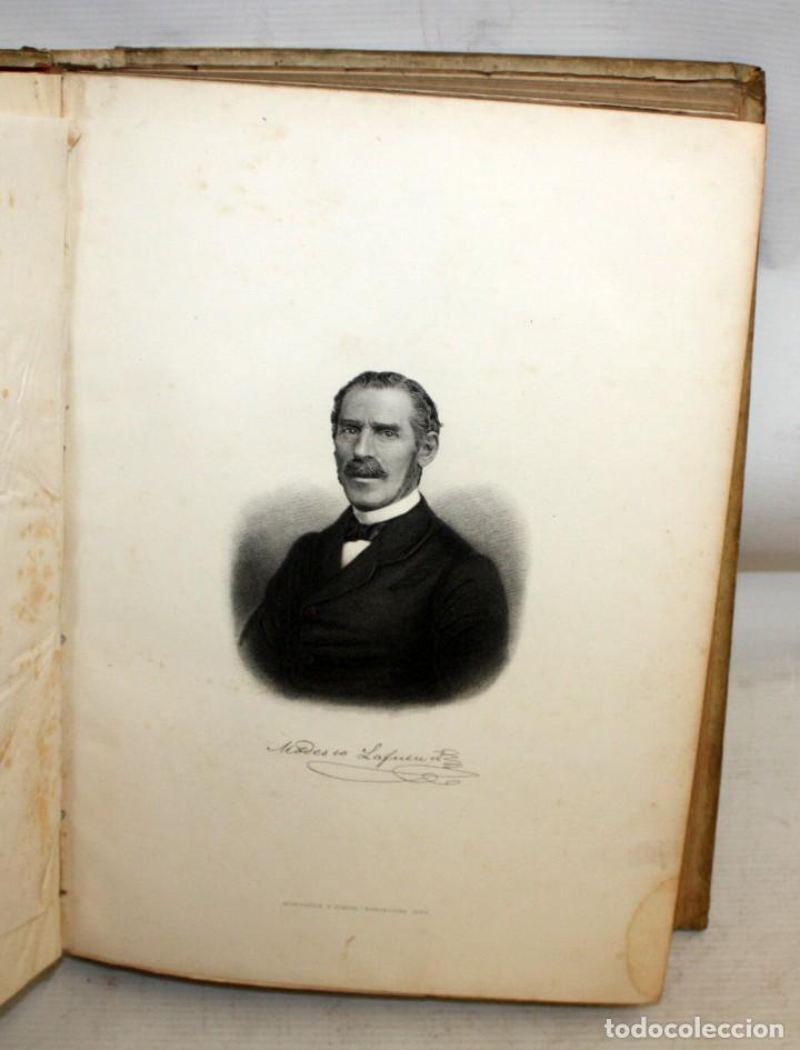 Libros antiguos: HISTORIA GENERAL DE ESPAÑA-MODESTO LAFUENTE-6 TOMOS-MONTANER Y SIMON. - Foto 8 - 165044562
