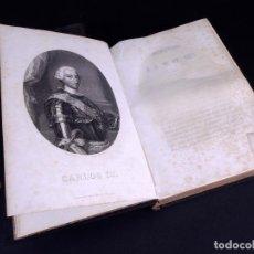 Libros antiguos: HISTORIA DEL REINADO DE CARLOS III EN ESPAÑA. TOMOS I Y III. MADRID 1856. Lote 165090962