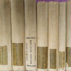 Libros antiguos: A MALET J. ISAAC LOTE 7 LIBROS LIBRARIE HACHETTE HISTORIE ROMAINE-LA GUERRE DE CENT-ANS-L ORIENTET . Lote 165104982