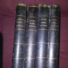 Libros antiguos: 1873. HISTORIA GENERAL DE FRANCIA. VICENTE ORTIZ DE LA PUEBLA.. Lote 165851810