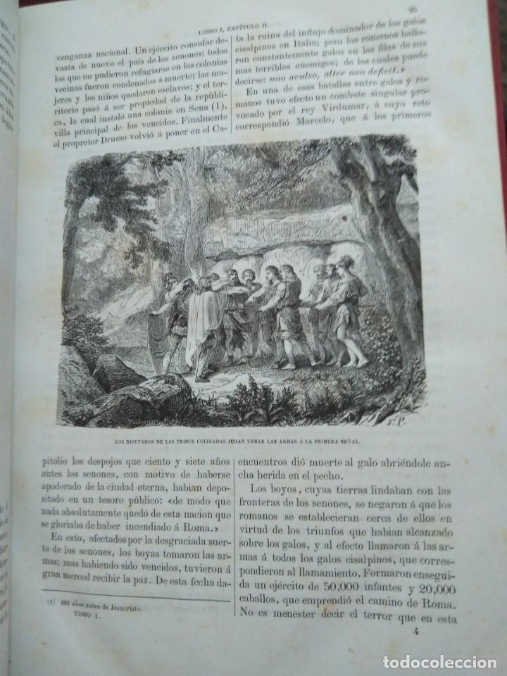 Libros antiguos: 1873. Historia general de Francia. Vicente Ortiz de la Puebla. - Foto 7 - 165851810