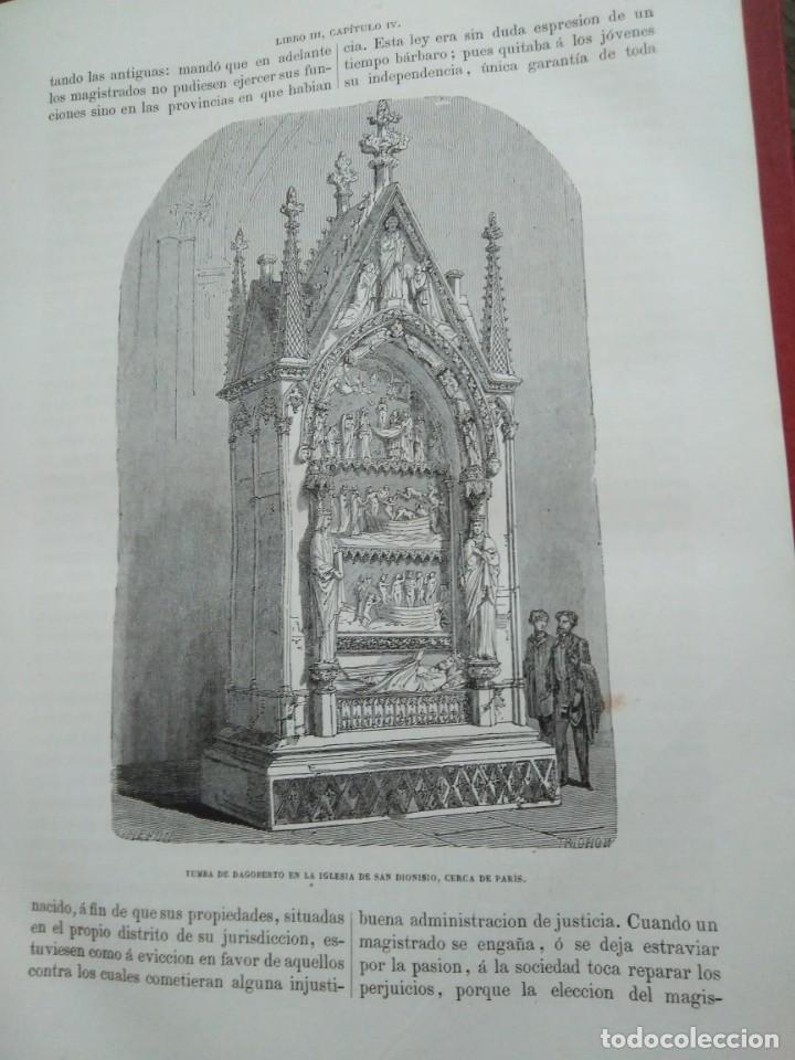 Libros antiguos: 1873. Historia general de Francia. Vicente Ortiz de la Puebla. - Foto 8 - 165851810