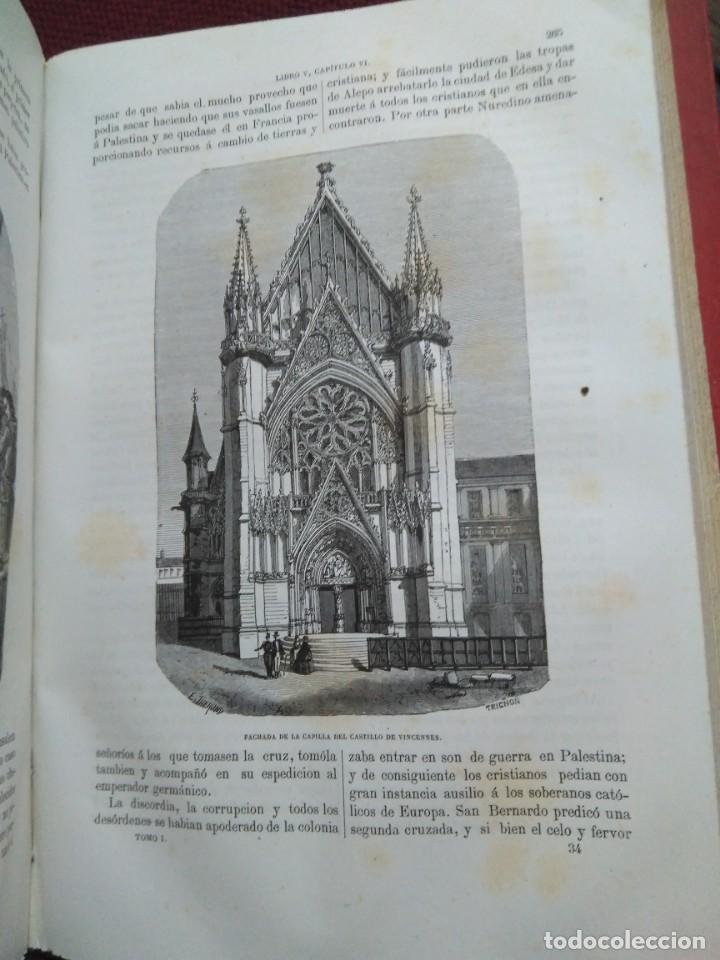 Libros antiguos: 1873. Historia general de Francia. Vicente Ortiz de la Puebla. - Foto 10 - 165851810