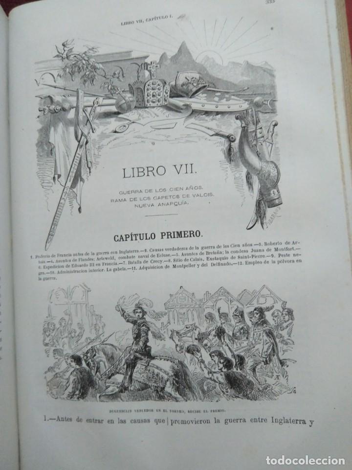 Libros antiguos: 1873. Historia general de Francia. Vicente Ortiz de la Puebla. - Foto 11 - 165851810