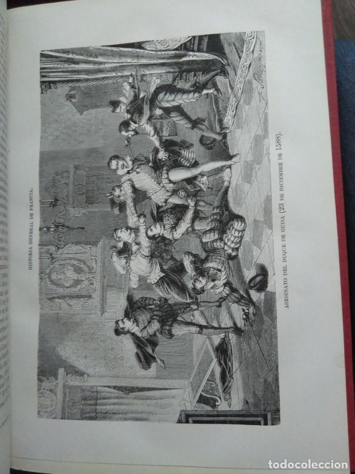 Libros antiguos: 1873. Historia general de Francia. Vicente Ortiz de la Puebla. - Foto 14 - 165851810