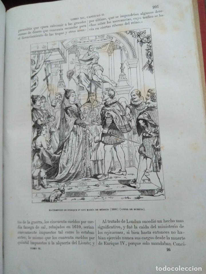 Libros antiguos: 1873. Historia general de Francia. Vicente Ortiz de la Puebla. - Foto 15 - 165851810