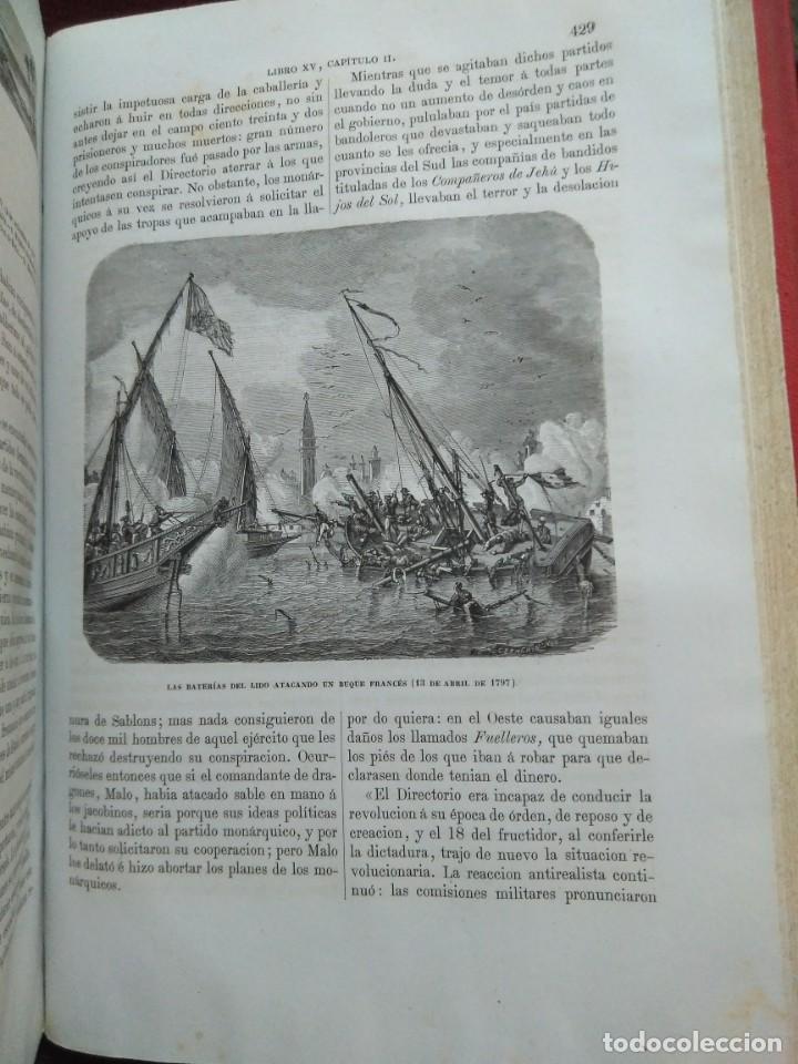 Libros antiguos: 1873. Historia general de Francia. Vicente Ortiz de la Puebla. - Foto 19 - 165851810