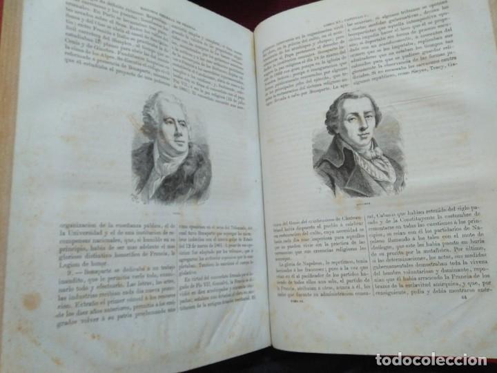 Libros antiguos: 1873. Historia general de Francia. Vicente Ortiz de la Puebla. - Foto 20 - 165851810