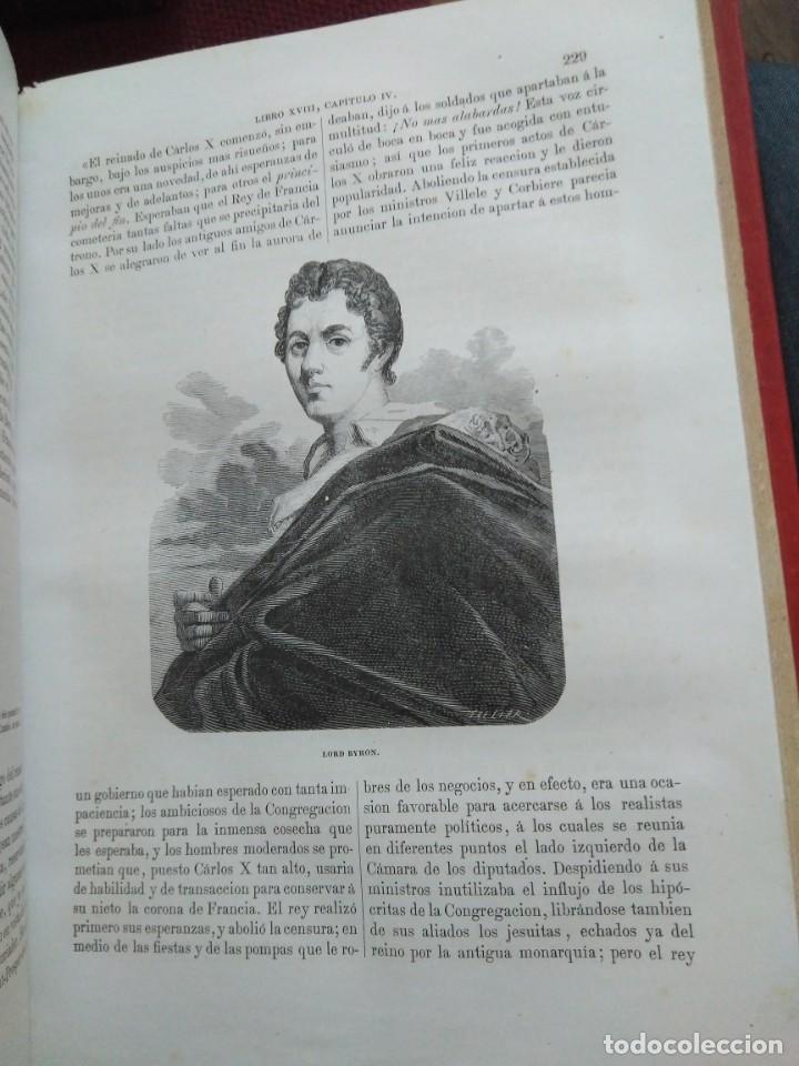 Libros antiguos: 1873. Historia general de Francia. Vicente Ortiz de la Puebla. - Foto 23 - 165851810