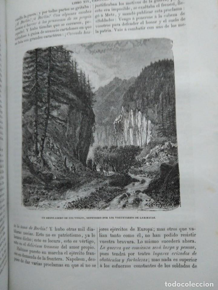 Libros antiguos: 1873. Historia general de Francia. Vicente Ortiz de la Puebla. - Foto 25 - 165851810