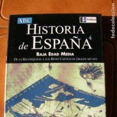 Livros antigos: LIBRO HISTORIA DE ESPAÑA BAJA EDAD MEDIA VOL,4 ESPASA EDICIONES ,POR JOSE LUIS MARTIN. Lote 166228802
