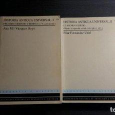 Libros antiguos: HISTORIA ANTIGUA UNIVERSAL. 2 TOMOS. UNED. Lote 166640914