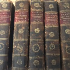 Libros antiguos: COMPENDIO DE HISTORIA UNIVERSAL DE MR ANQUETIL 1829. Lote 166746389