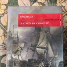 Libros antiguos: TRAFALGAR - LA CORTE DE CARLOS IV - EPISODIOS NACIONALES DE BENTIO PEREZ GALDOS - ESPAÑA SIN ESTRENA. Lote 166789338