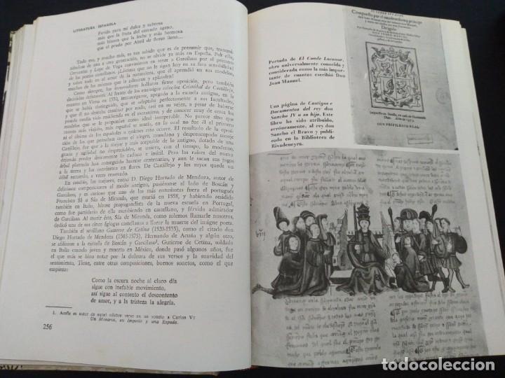 Libros antiguos: Historia Universal de la Literatura -Biblioteca Hispania - Foto 3 - 167246984