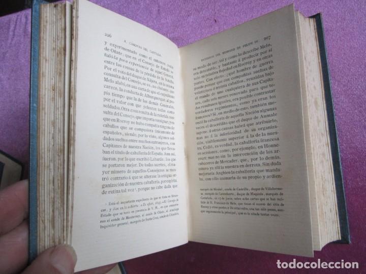 Libros antiguos: REINADO DE FELIPE IV 1888 1ª EDICION SOLO 50 EJEMPLARES EN PAPEL DE HILO. 2 TOMOS COMPLETA. - Foto 11 - 167534256