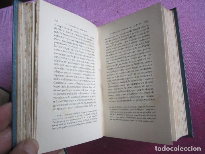 Libros antiguos: REINADO DE FELIPE IV 1888 1ª EDICION SOLO 50 EJEMPLARES EN PAPEL DE HILO. 2 TOMOS COMPLETA. - Foto 12 - 167534256
