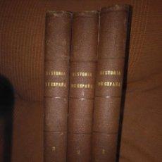 Libros antiguos: 1852. HISTORIA GENERAL DE ESPAÑA. PADRE MARIANA. 3 TOMOS.. Lote 167757768