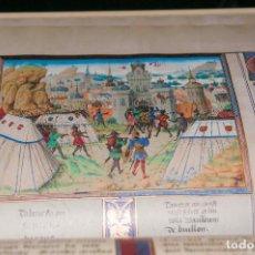 Libros antiguos: FACSIMIL - CRONICAS DE LAS CRUZADAS DE JERUSALÉN - ED VERSOL. Lote 167910140