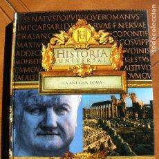 Libros antiguos: LIBRO LA ANTIGUA ROMA EDICIONES RUEDA AÑO 2004 ILUSTRADO ,200 PAGINAS. Lote 167988420