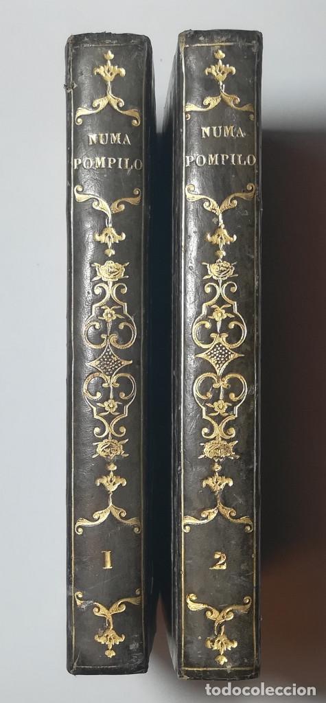 2 TOMOS. NUMA POMPILIO, SEGUNDO REY DE ROMA ,POEMA DEL CABALLERO DE FLORIAN. 1818. (Libros antiguos (hasta 1936), raros y curiosos - Historia Antigua)