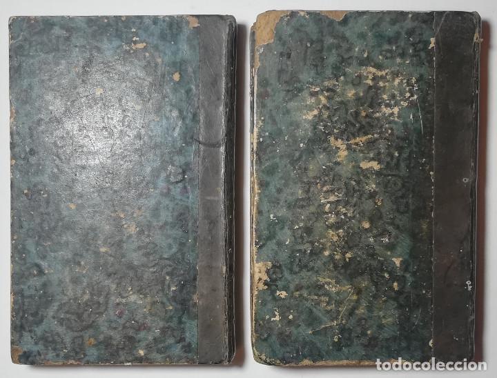 Libros antiguos: 2 TOMOS. NUMA POMPILIO, SEGUNDO REY DE ROMA ,POEMA DEL CABALLERO DE FLORIAN. 1818. - Foto 19 - 168048328
