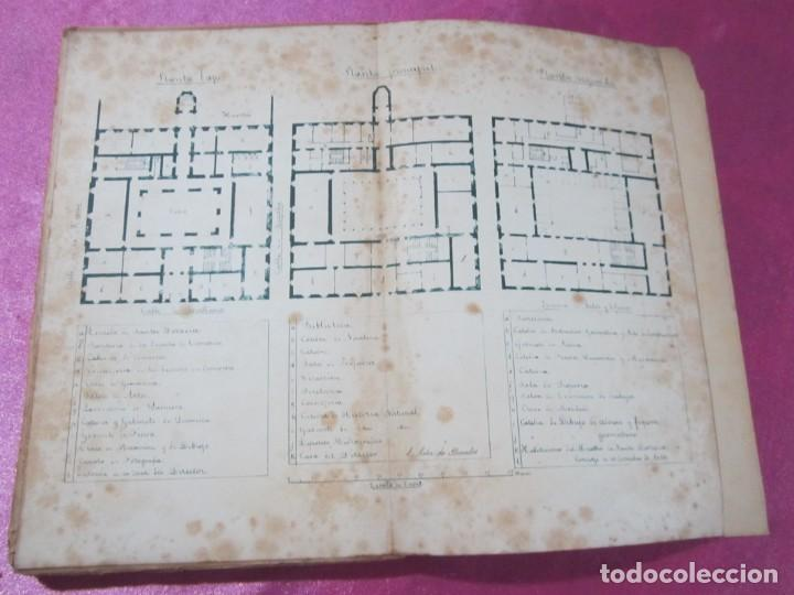 Libros antiguos: ORIGENES BIBLIOTECA DEL INSTITUTO DE JOVELLANOS DEDICADO AUTOR A ANICETO CELA - Foto 13 - 168231336