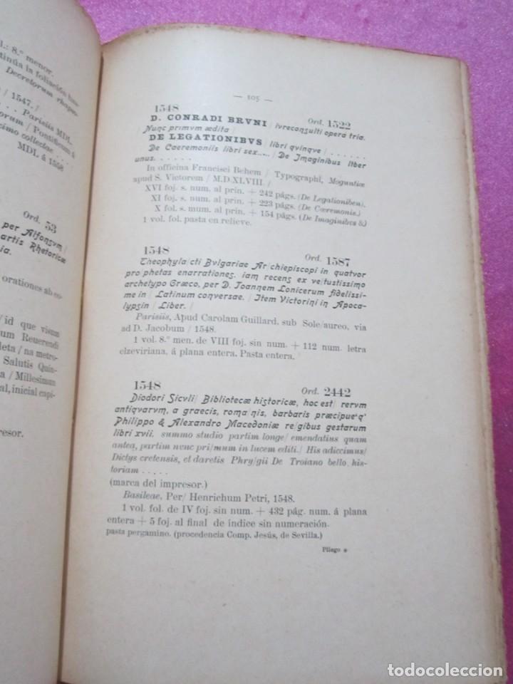 Libros antiguos: ORIGENES BIBLIOTECA DEL INSTITUTO DE JOVELLANOS DEDICADO AUTOR A ANICETO CELA - Foto 16 - 168231336