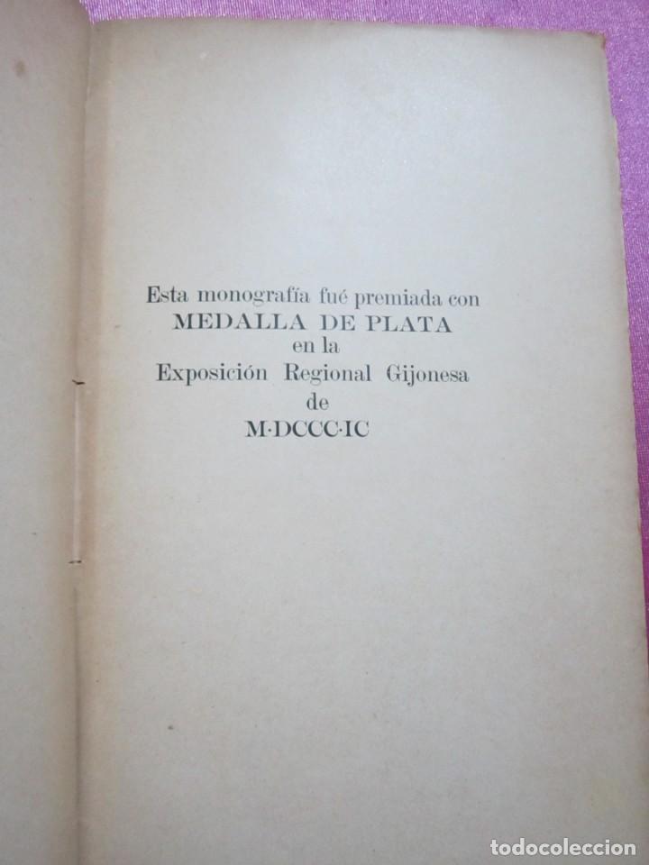 Libros antiguos: ORIGENES BIBLIOTECA DEL INSTITUTO DE JOVELLANOS DEDICADO AUTOR A ANICETO CELA - Foto 19 - 168231336