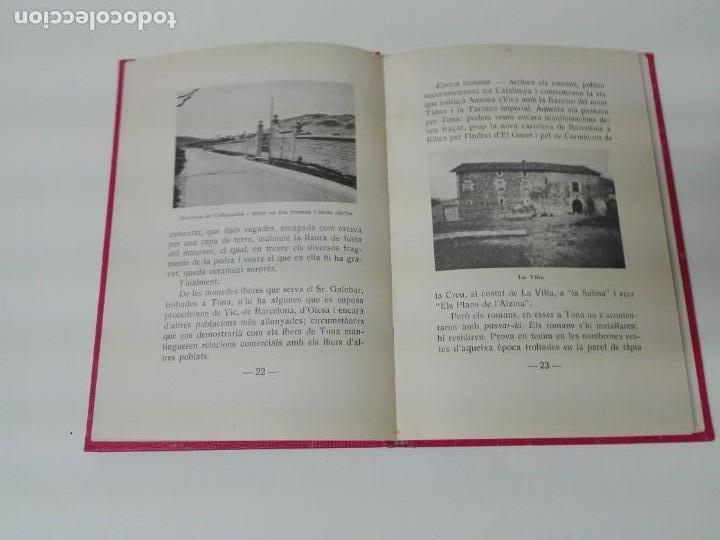 Libros antiguos: TONA DESCRIPCION HISTORICA Y GEOGRAFICA 1935 ILUSTRADO - Foto 5 - 168300028