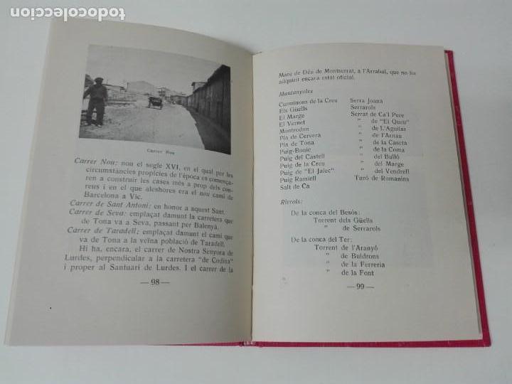 Libros antiguos: TONA DESCRIPCION HISTORICA Y GEOGRAFICA 1935 ILUSTRADO - Foto 7 - 168300028