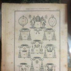 Libros antiguos: TRATADO SOBRE CIENCIA DEL BLASÓN MODESTO COSTA Y TUREL DE 1856- HASTA ESCUDOS.. Lote 168441848