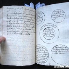 Libros antiguos: AÑO 1773. LIBRO MANUSCRITO HISTORIA Y CURIOSIDADES DE MALLORCA: GENOCIDIO JUDIO, SINAGOGAS, DIEZMOS.. Lote 168447656