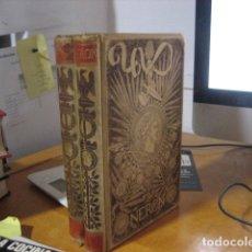 Libros antiguos: NERON ESTUDIO HISTORICO . EMILIO CASTELAR. TOMO I Y TOMO II. MONTANER Y SIMON EDITORES 1892.. Lote 168452636