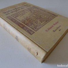 Libros antiguos: LIBRERIA GHOTICA. LUDWIG PFANDL. INTRODUCCIÓN AL ESTUDIO DEL SIGLO DE ORO. 1929. FOLIO.MUY ILUSTRADO. Lote 168875168