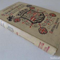 Libros antiguos: LIBRERIA GHOTICA. JULIAN JUDERIAS. LA LEYENDA NEGRA. 1943. FOLIO. MUY ILUSTRADO.. Lote 168875188