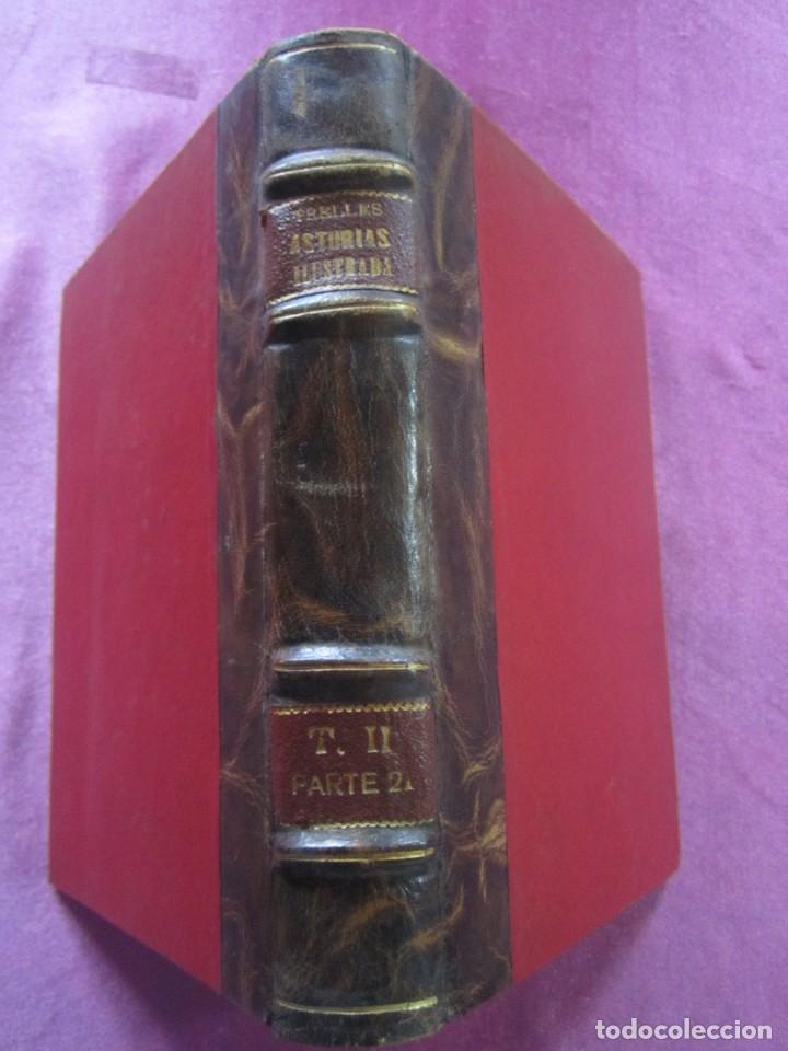 ASTURIAS ILUSTRADA MAÑUEL TRELLES TOMO 2 414 PAGINAS AÑO 1760 (Libros antiguos (hasta 1936), raros y curiosos - Historia Antigua)