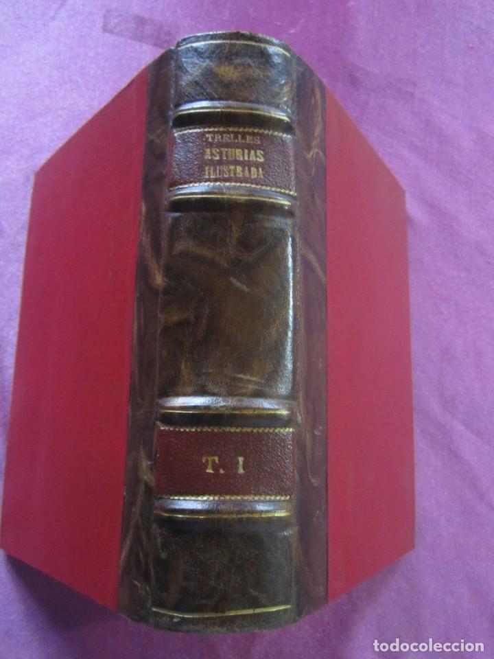 Libros antiguos: ASTURIAS ILUSTRADA MAÑUEL TRELLES AÑO 1760 TOMO 1 604 PAGINAS AÑO 1760 - Foto 2 - 169129104