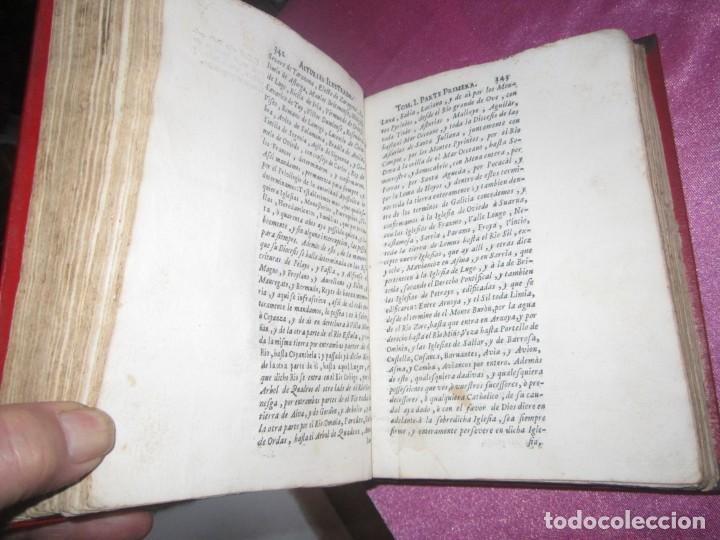 Libros antiguos: ASTURIAS ILUSTRADA MAÑUEL TRELLES AÑO 1760 TOMO 1 604 PAGINAS AÑO 1760 - Foto 5 - 169129104