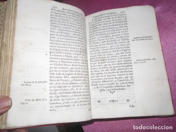 Libros antiguos: ASTURIAS ILUSTRADA MAÑUEL TRELLES AÑO 1760 TOMO 1 604 PAGINAS AÑO 1760 - Foto 9 - 169129104