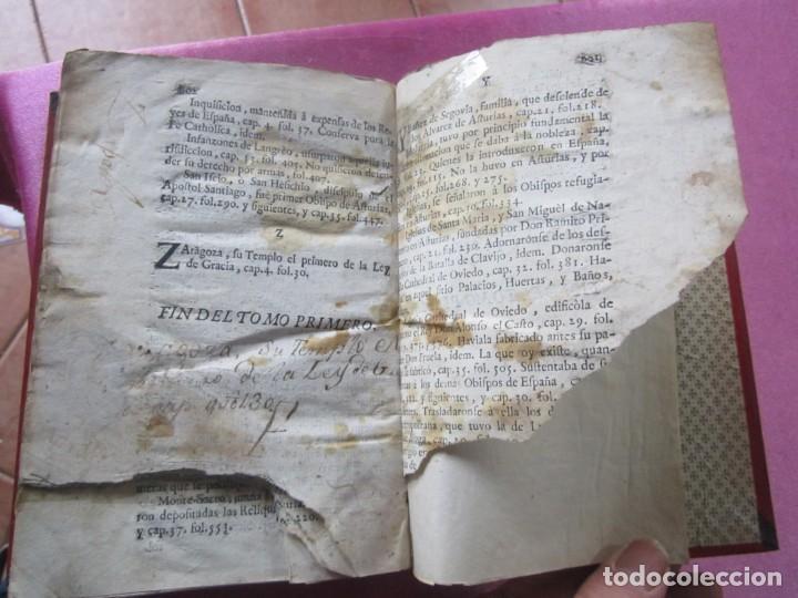 Libros antiguos: ASTURIAS ILUSTRADA MAÑUEL TRELLES AÑO 1760 TOMO 1 604 PAGINAS AÑO 1760 - Foto 11 - 169129104