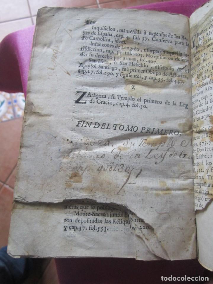 Libros antiguos: ASTURIAS ILUSTRADA MAÑUEL TRELLES AÑO 1760 TOMO 1 604 PAGINAS AÑO 1760 - Foto 12 - 169129104