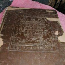 Libros antiguos: LIBRO DE ORO IBERO_AMERICANO. Lote 169650649